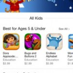 Apple's new Kids App Store went LIVE this week