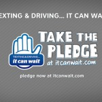 Attention Drivers! Don't touch that phone. It Can Wait.