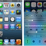 I found a nice comparison of iOS 6 vs iOS 7 stock app screen shots